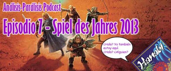 Podcast 7 - Spiel des Jahres 2013